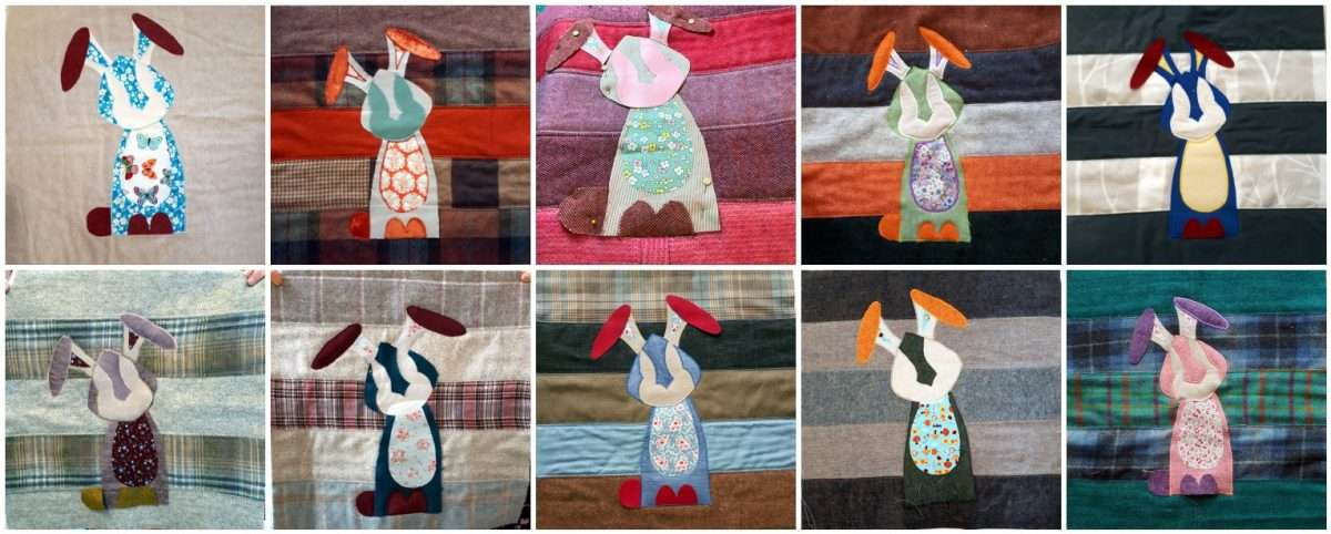 Harriet Hare Cushion Workshop Finishes