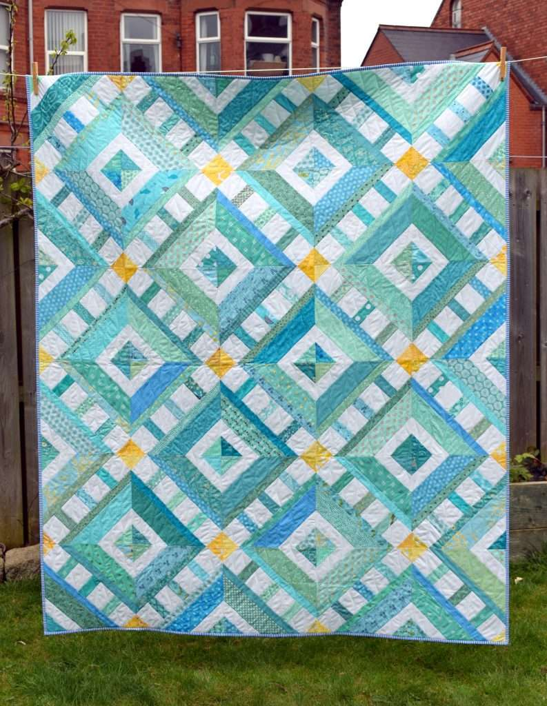 Sun Sea Amp Sky Quilt Just Jude Designs Quilting